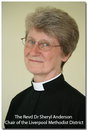 The Revd Dr Sheryl Anderson